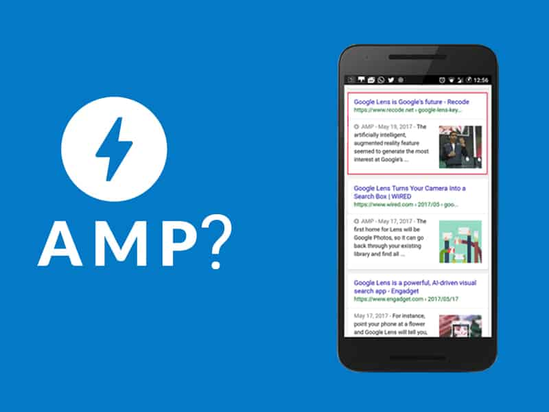 What is AMP and how is it relevant?